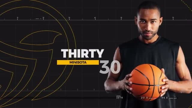 Sport Player Profiles: After Effects Templates