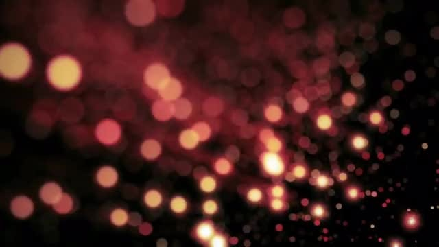 Pink Bokeh Lights For Holidays: Stock Motion Graphics