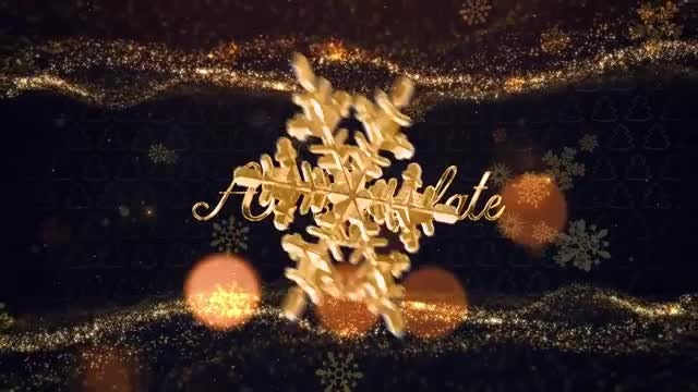 Christmas Titles: After Effects Templates