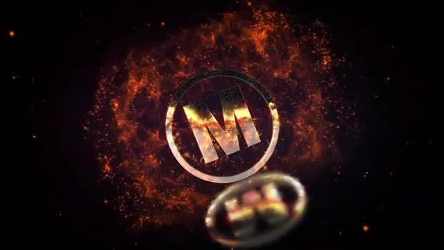 Fire Dust Logo: After Effects Templates