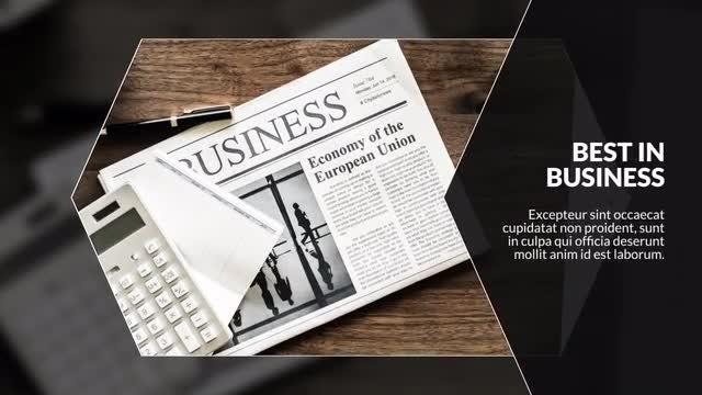 Business Rhombus Corporate: Premiere Pro Templates