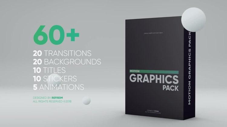 Motion Graphics Pack: Premiere Pro Templates