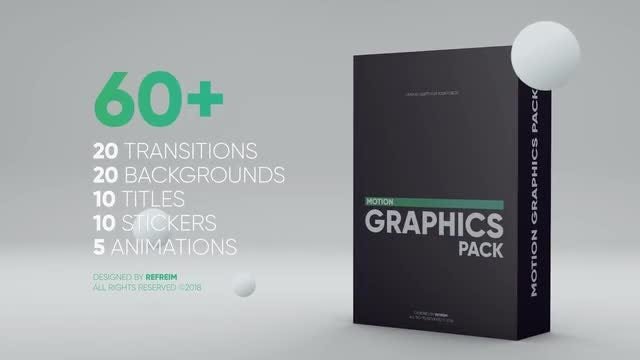 Motion Graphics Pack: Premiere Pro Templates