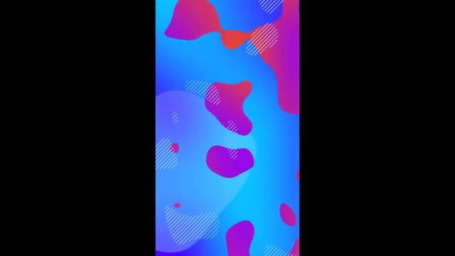 Blue-Red Instagram Stories Background: Stock Motion Graphics