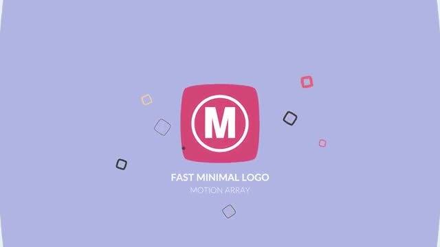 Fast Minimal Logo: Premiere Pro Templates