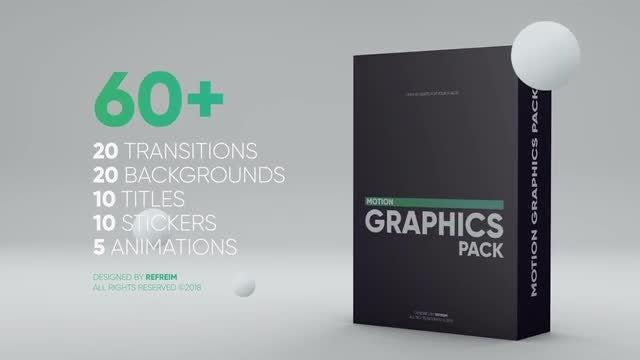 Motion Graphics Pack: After Effects Templates