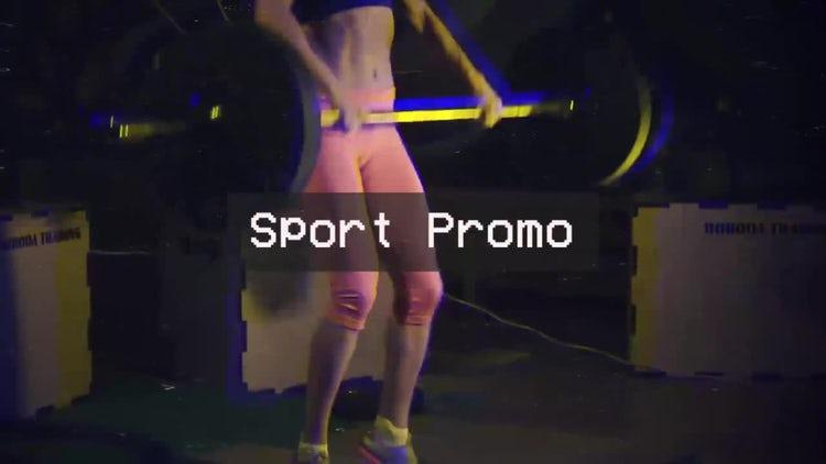 Retro Sport Promo: Premiere Pro Templates