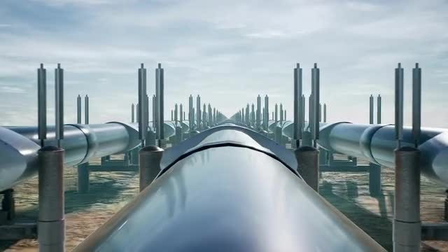 Gas Pipeline: Stock Motion Graphics