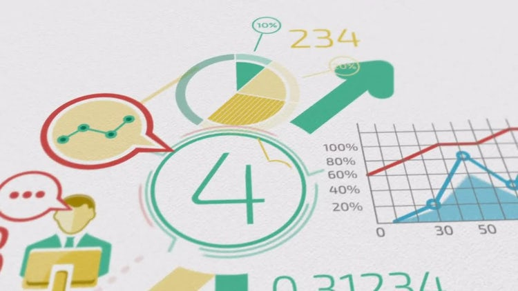 Business Background: Stock Motion Graphics