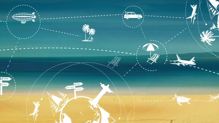 Travel and Tourism : Motion Graphics