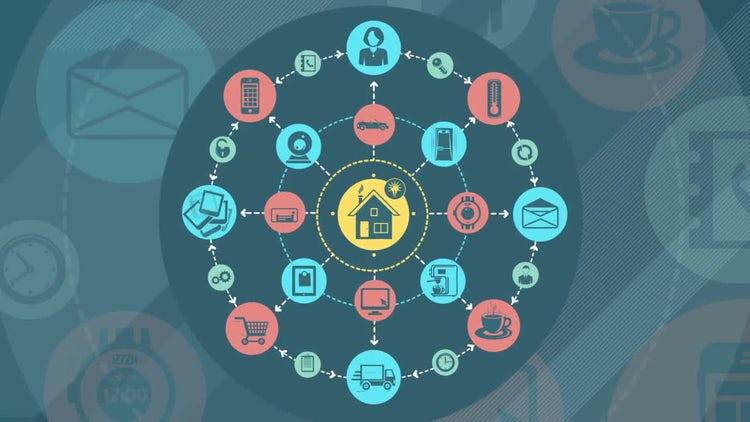 Smart Home Infographics : Motion Graphics