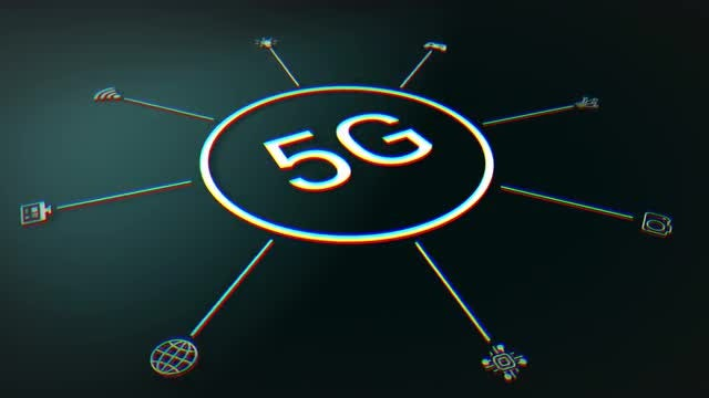 5G Internet Infographic: Stock Motion Graphics
