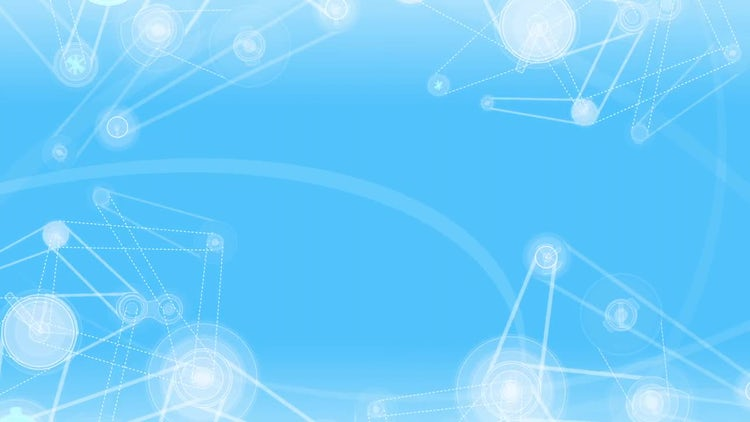 Animation Mechanisms, Blue Background: Motion Graphics