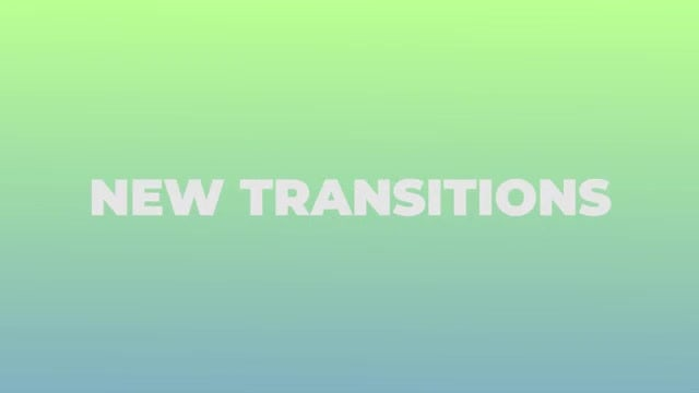 The Transitions: Premiere Pro Templates