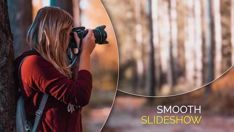 Smooth Circle Elegant - Slideshow: After Effects Templates