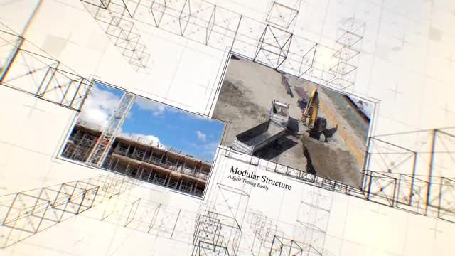 Construction Slideshow: After Effects Templates