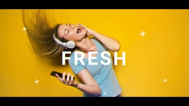 Fresh Opener: After Effects Templates