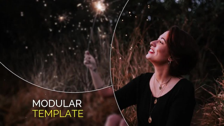 Smooth Circle Elegant - Slideshow: Premiere Pro Templates