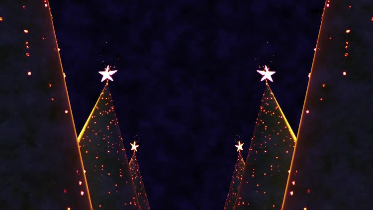 Christmas Tree Parade: Stock Motion Graphics