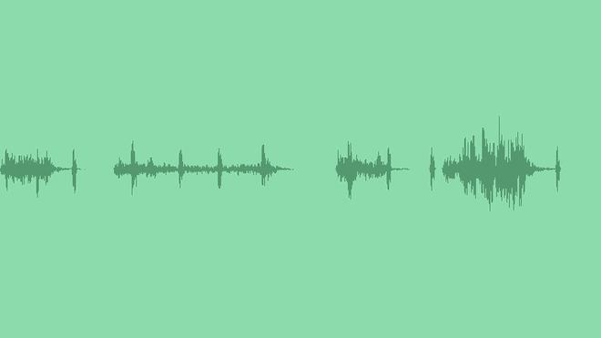 Futuristic Glitch Atmosphere: Sound Effects