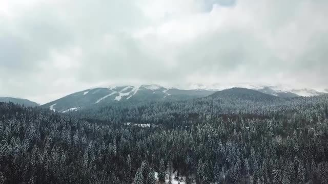 Mountain Aerial Footage: Stock Video
