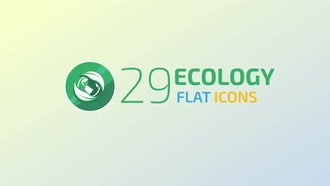 Ecology Concept Icons: Stock Motion Graphics