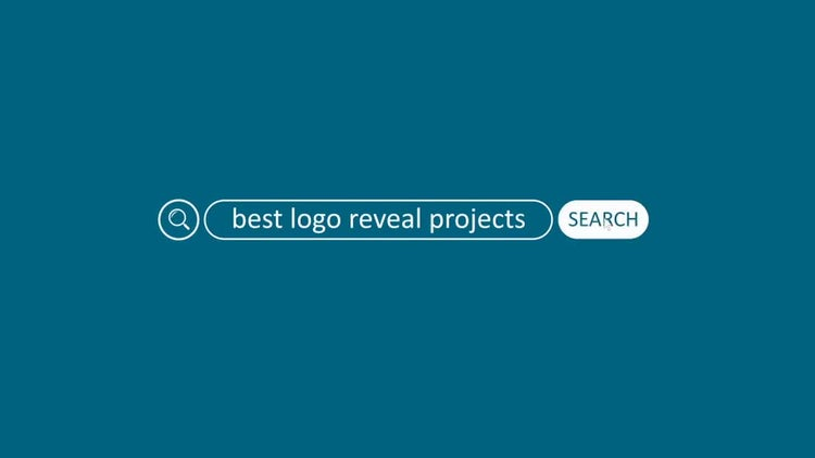 Web Search Logo Reveal: After Effects Templates