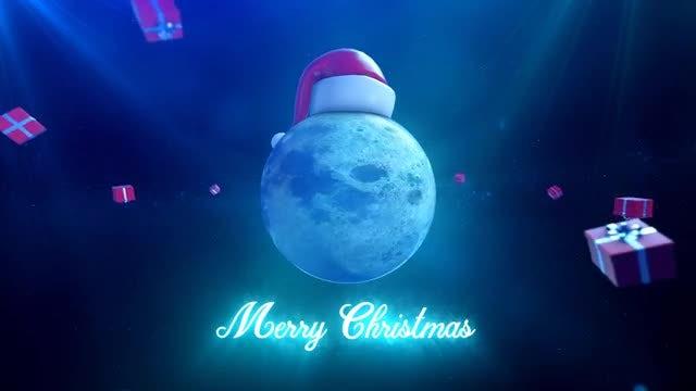 Christmas Moon: Stock Motion Graphics