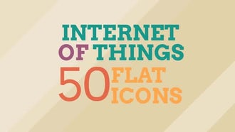 Internet Of Things Icon Set: Motion Graphics