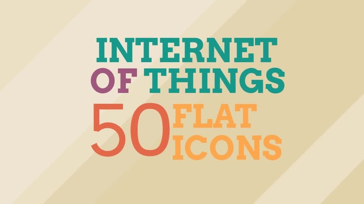 Internet Of Things Icon Set: Stock Motion Graphics