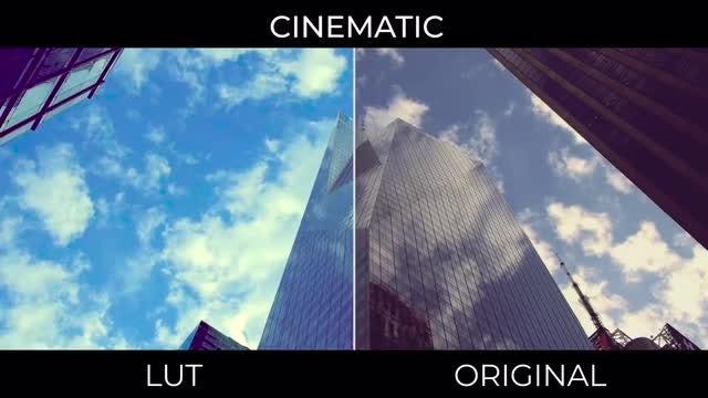 Cinematic LUTs: Premiere Pro Presets