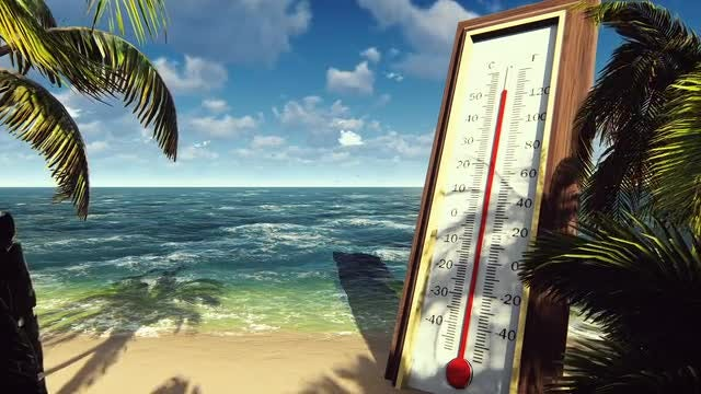 Thermometer Going Haywire: Stock Motion Graphics