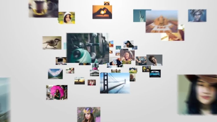 Multi Photo Logo Opener: After Effects Templates