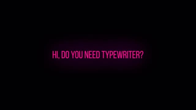 Typewriter Effect For Essential Graphics - Motion Graphics Templates