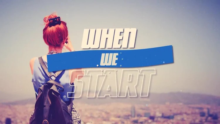 When We Start: After Effects Templates