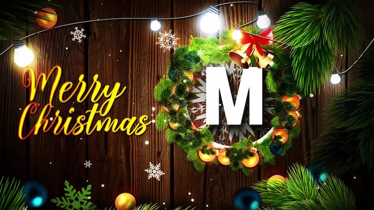 Merry Christmas Logo: After Effects Templates