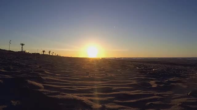 Sunset At The Beach: Stock Video