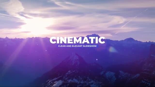 Cinematic Slideshow: Premiere Pro Templates
