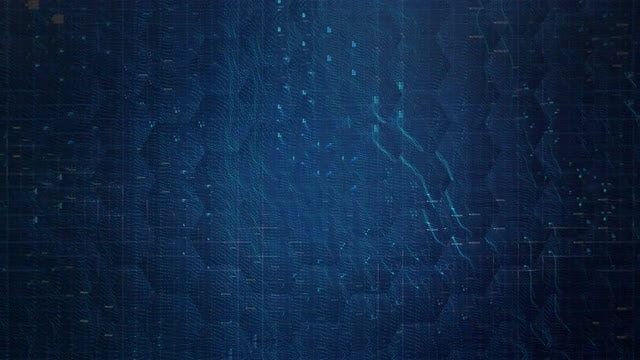 digital blue abstract patterns background stock motion graphics