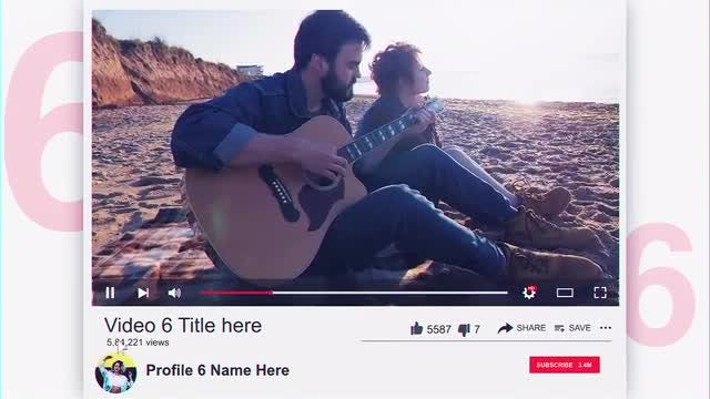 Top 10 YouTube Videos: After Effects Templates