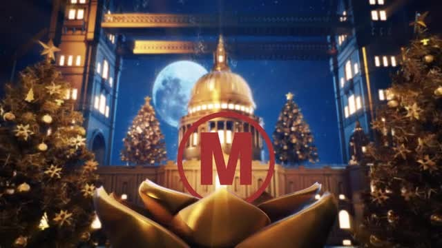 Golden Christmas In Vatican: After Effects Templates