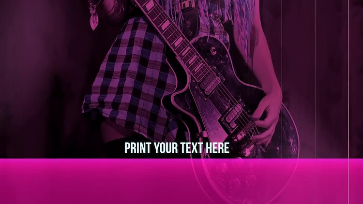 High Voltage Rock Slideshow: After Effects Templates