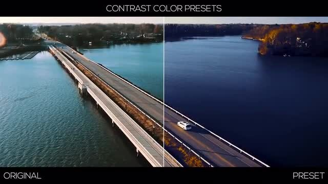 Contrast Color Presets: Premiere Pro Presets