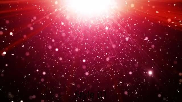 Glittering Red: Stock Motion Graphics