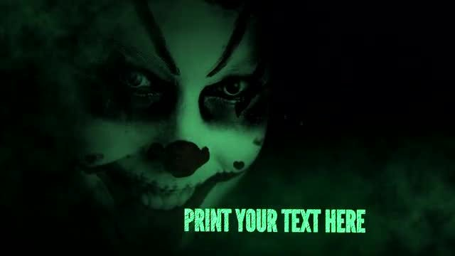 Toxic Darkness Slideshow: After Effects Templates