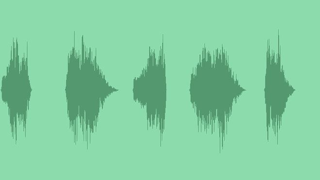 Cartoon Slide Effect Selection: Sound Effects