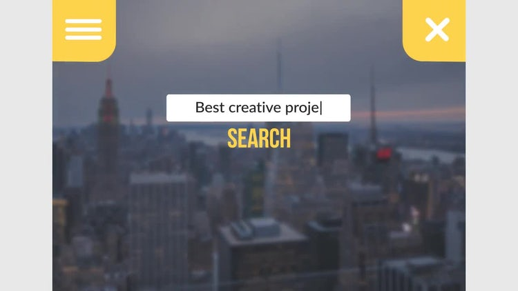 Web Search Logo Reveal - 3 versions: After Effects Templates
