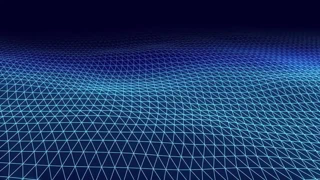 Triangle Wave: Stock Motion Graphics