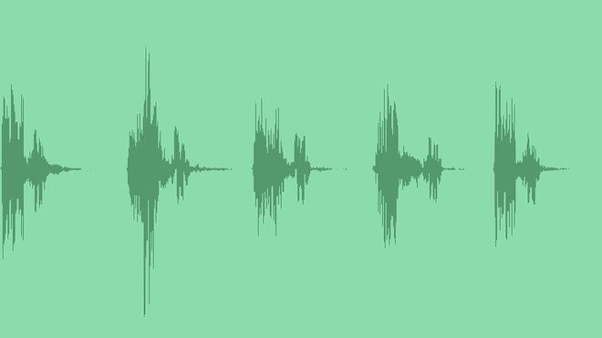 Sci-Fi Falling Down: Sound Effects