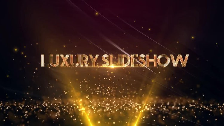 Luxury Slideshow: After Effects Templates